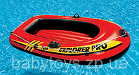 Лодка надувная детская одноместная Explorer 100 Intex 58355