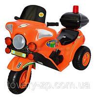 Электромобиль мотоцикл детский Ямаха аккумулятор Орион 372О