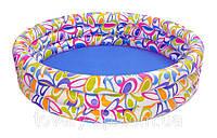 Бассейн надувной детский Цветочный Круг Intex 56440
