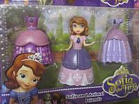 Принцесса София Прекрасная с платьями