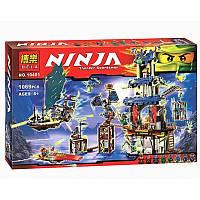 Конструктор Ниндзя Bela 10401 «Призрачный город Стикс», 1069 деталей с фигурками лего-человечков