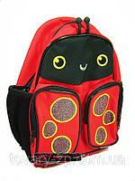 Рюкзак-ранец детский ортопедический для маленьких Tiger 2925 Божья коровка