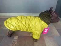 Куртка для собачек Dogs Bomba K-2 размер 3(XS-2) оливковый