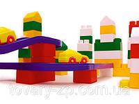 Конструктор детский блочный Юни-Блок 136 деталей
