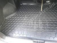 Коврик в багажник CHEVROLET Lacetti седан (Автогум AVTO-GUMM) пластик+резина
