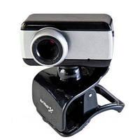 Веб камера с микрофоном для компьютера Hi-Rali HI-CA007, подключается через USB порт, крепежная клипса
