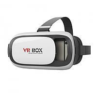 Очки виртуальной реальности VR Box 2, пульт, встроенный акселерометр, поддержка смартфона до 6 дюйма