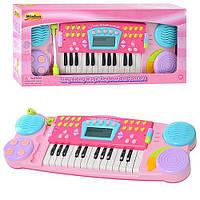 Синтезатор пианино детский с микрофоном WinFun 2036 G-NL