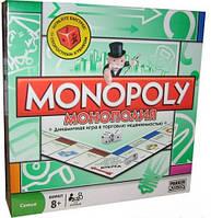Монополия детская игра настольная 6123