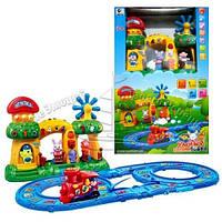 Железная дорога детская развивающая игра Умный поезд ВВ78