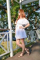 Женское платье белое, фото 1
