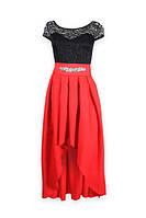 Женское платье асиметрия, фото 1