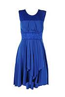 Женское платье  пояс гипюр, фото 1