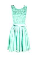Женское платье  пояс атлас, фото 1