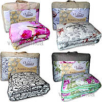 Одеяло шерстяное стеганное полуторное 140 х 205  ВИЛЮТА (VILUTA) ОД 9950