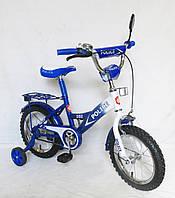 """Детский Велосипед """"Police"""" 2-х колесный 14 дюймовые колеса 151411"""