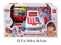 Кассовый аппарат с микрофоном детский игровой набор 2294