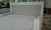 Кожаная кровать с тумбами СУЛТАН