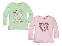 Детские регланы на девочку - Сердце и бабочки