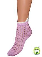 Детские летние носки (Светло сиреневый)
