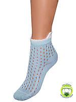 Детские летние носки (Светло голубой)