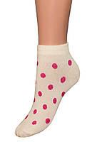 Детские носки (укороченные) (Молоко)