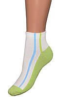 Детские носки (укороченные) (Салатовый)