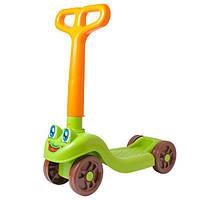 Самокат детский четыре колеса пластмассовый Технок 3473