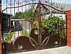 Кованные ворота 18300