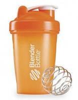 Спортивная бутылка BLENDERBOTTLE шейкер CLASSIC 590ML оранжевая, пластиковая
