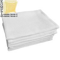 Вафельное полотенце отбеленное (пл. 140) Тк 0,45х0,7 шт.