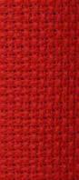 Канва Арт.854 К4 красная,150см  Аида №11