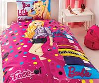Подростковое постельное белье  BARBIE FACE Of FASHION DISNEY от TAC
