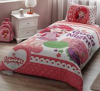 Подростковое постельное белье  STRAWBERRY SHORTCAKE GOOD NIGHT DISNEY от TAC