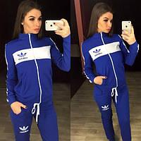 Костюм женский Adidas спортивный на молнии разные цвета SKp51