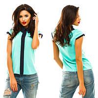 Женская блузка с коротким рукавом   в Украине по низким ценам