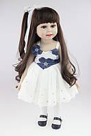 Кукла Кэрри, реборн, 45 см, полностью из винила, в подарочной упаковке