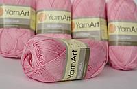 Begonia Бегонія Yarnart Ярнарт хлопок розовый