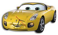"""Детские фигурные настенные часы """"Машина"""""""