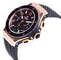 Наручные часы Hublot Geneve, механизм кварцевые с хронографом