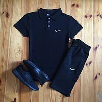 Комплект футболка и шорты Polo c нашивкой Nike та Reebok. Отличное качество. Классический дизайн. Код: КДН213