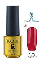 Fox Gel Polish Фокс гель лак 6 мл №179