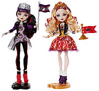 Набор Эппл Уайт и Рэйвен Квин Школьный дух, Ever After High School Spirit Apple White and Raven Queen (2-Pack)