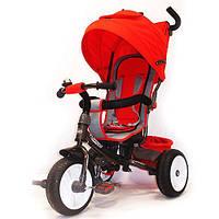 Велосипед детский трехколесный Турбо Трайк М3117, колеса надувные, Turbo Trike Air красный