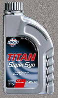 Моторное масло FUCHS TITAN SUPERSYN 5W30 SL 1L для автомобиля синтетика
