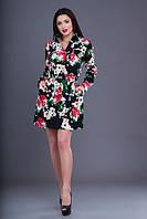 Платье женское принт, фото 1