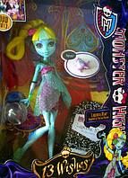 Кукла Монстер хай Лагуна Блю 13 Желаний(Monster High 13 Wishes Lagoona Blue)