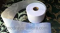 Люверсная лента для штор, 10 см, клеевая, белая (розница при пошиве)