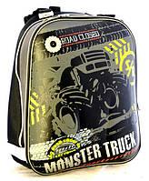 "Рюкзак школьный каркасный ""Muster Truck"""
