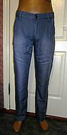 Мужские классические летние брюки по джинс р 29-34